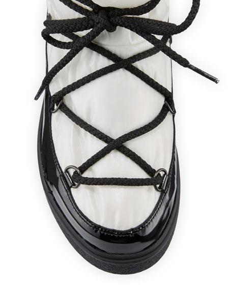 Ynnaf Lace-Up Drawstring Snow Boot