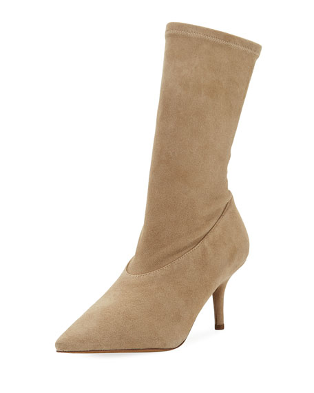 7b4fe6a5cd4 Yeezy Stretch-Suede 70mm Ankle Boots