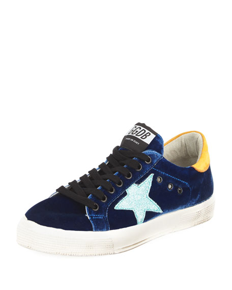May Velvet Star Low-Top Sneaker