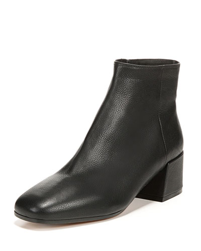Ostend Pebbled Leather Bootie