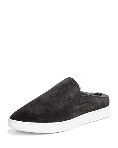 Verrell-3 Shearling-Lined Slide-On Sneaker