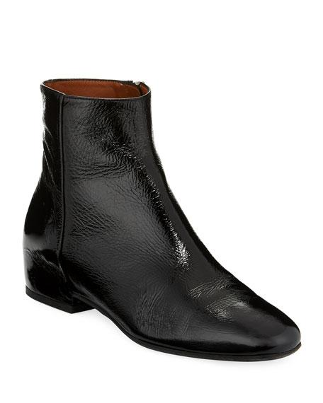Ulyssa Leather Low-Heel Boot
