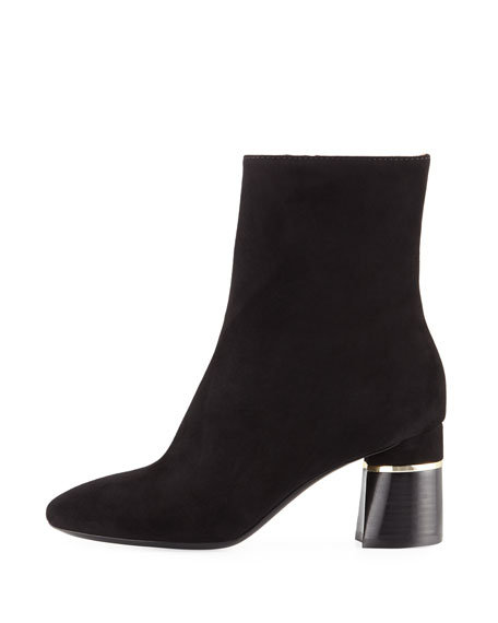 Black Bootie with 70 MM Chun