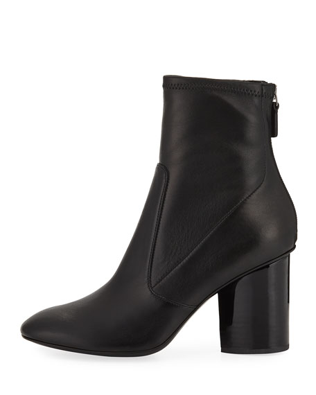Dessa Leather 85mm Sock Bootie
