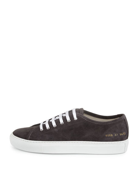Tournament Suede Low-Top Sneaker