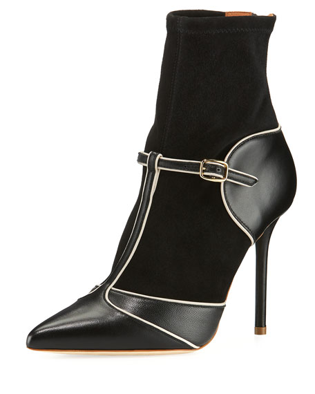 Sadie Mary Jane T-Strap Boots