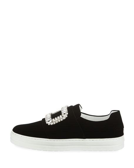 Sneaky Viv Strass Buckle Sneaker