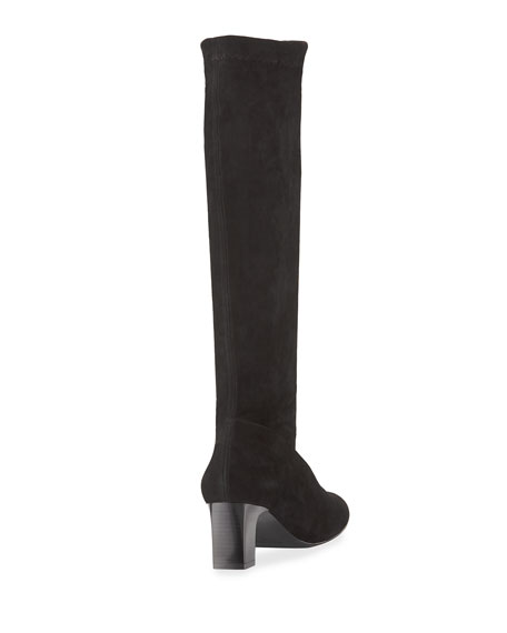 Palace Stretch-Suede Tall Boot