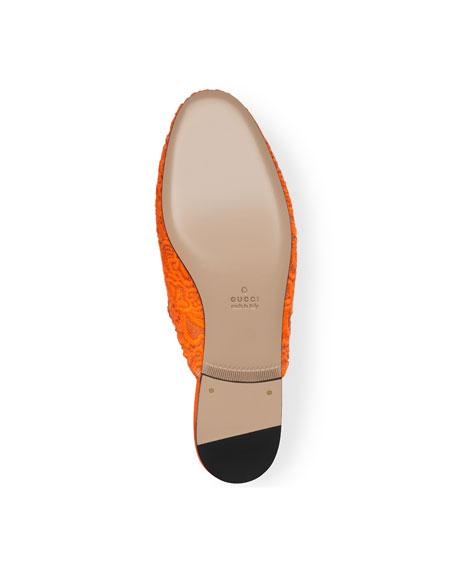 Princetown Lace Loafer Slide