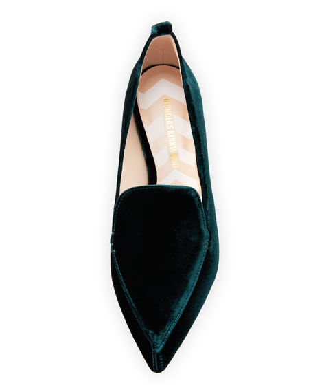 Beya Velvet Loafer