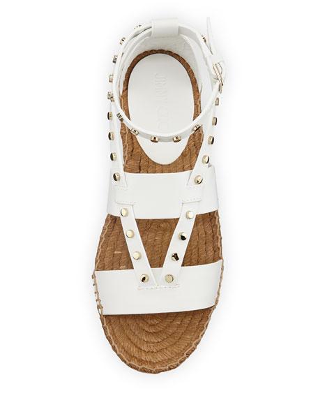 Denise Flat Studded Sandal