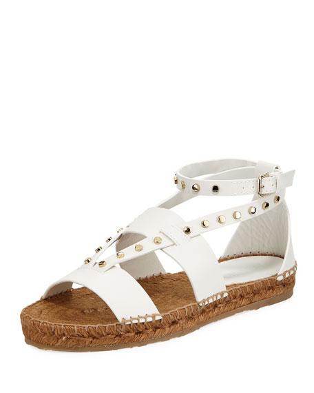 79efec69bc7 Jimmy Choo Denise Flat Studded Sandals
