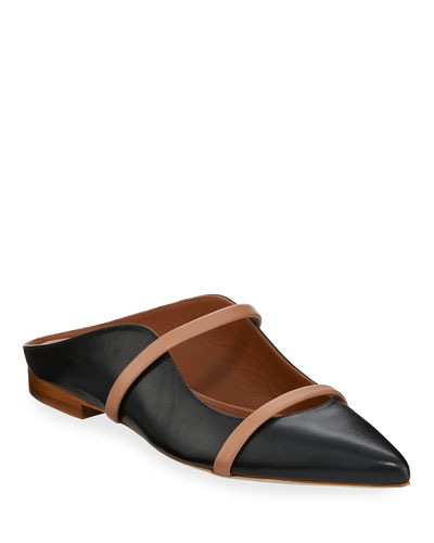 Maureen Leather Mule Slide