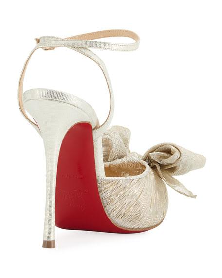 Artydiva Metallic Red Sole Sandal