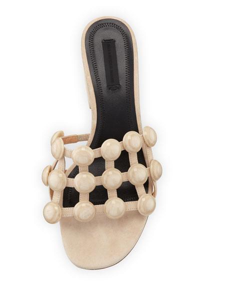 Lou Caged Mule Sandal