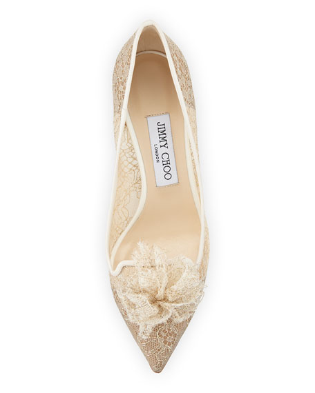 Estelle Sparkly Lace 60mm Pump