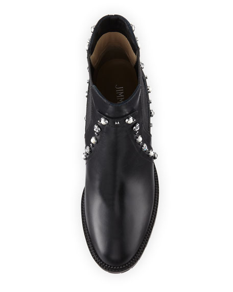 Burrow Studded Block-Heel Boot