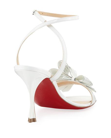 wholesale dealer 17b3b 18549 Miss Valois 85 Red Sole Sandal