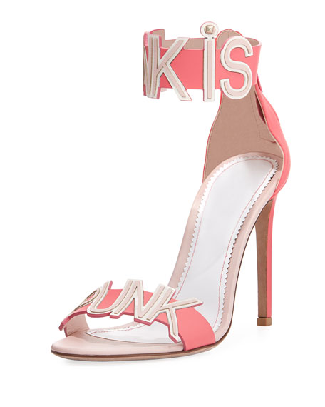 Pink is Punk d'Orsay Sandal