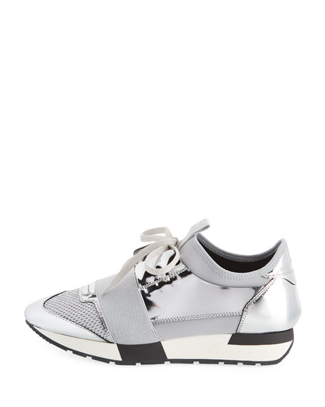 Classic Metallic Runner Sneakers