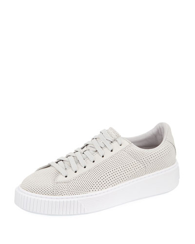 Basket Platform Perforated Sneaker