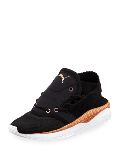 Tsugi Shinsei Knit Trainer Sneakers, Black