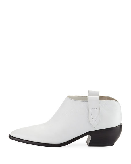 Dorie Leather Ankle Boot
