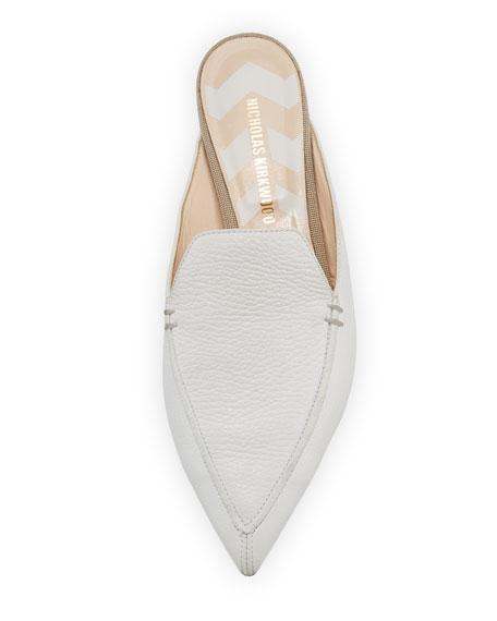 Beya Leather Loafer Mule
