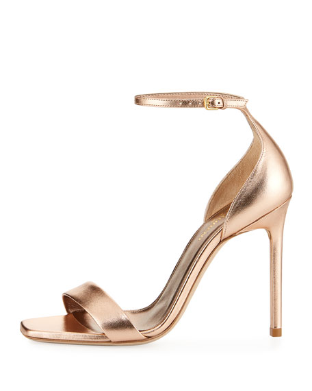 Amber Metallic d'Orsay Sandal