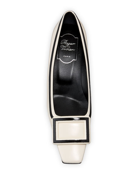 Belle Vivier Graphic 45mm Leather Pump