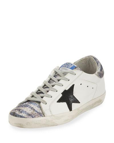 Glitter Low-Top Star Sneaker