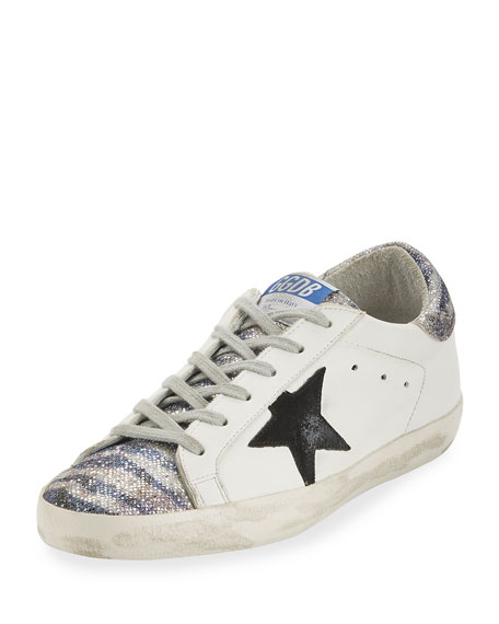 Glitter Low-Top Star Sneaker