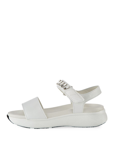 Leather Grip-Strap Sandal