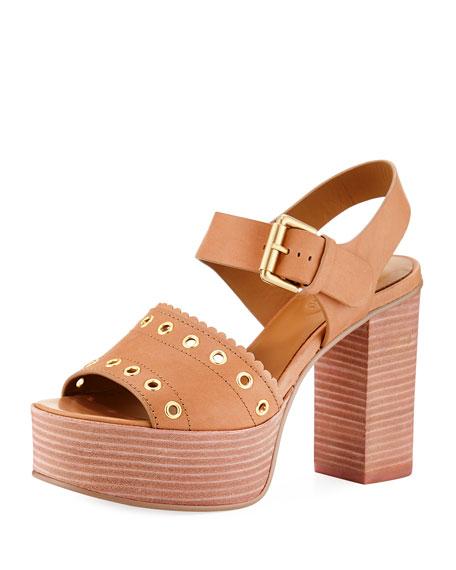 See by Chloe Nora Studded Platform Sandal ed898df302a