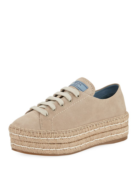 Rada Suede Embroidery Detail Sneakers 7YNvg
