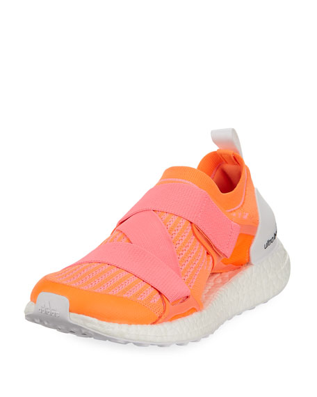 Adidas X Stella Mccartney Ultraboost X Orange Primeknit Trainers, Glow Orange Hyper