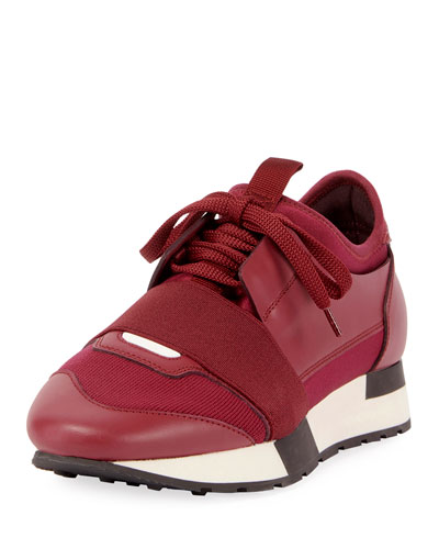 Colorblock Race Stretch-Sock Sneaker