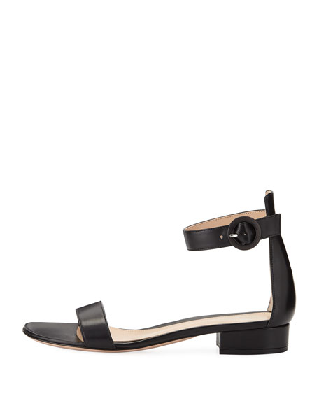 Leather Ankle-Wrap 20mm Sandal