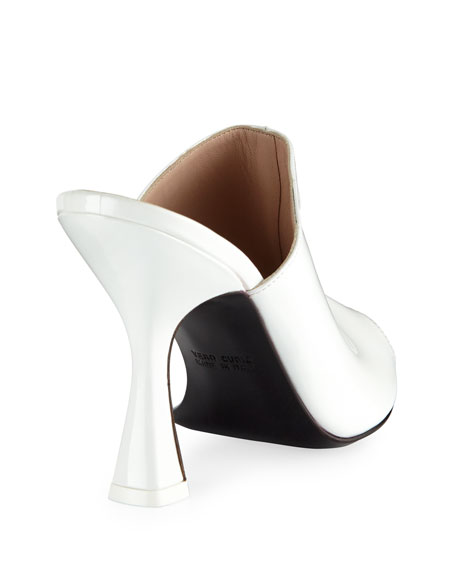 Pamela Patent Leather Mule Pump