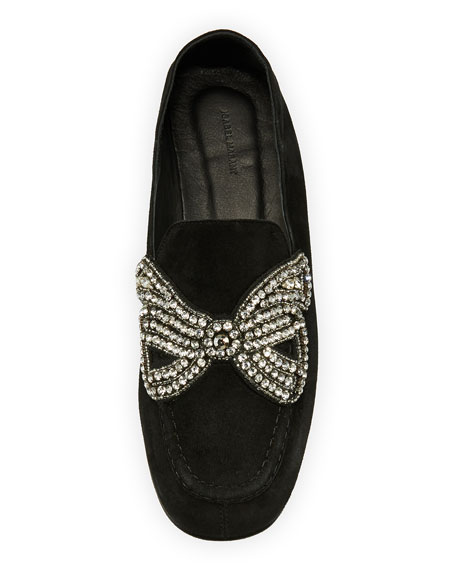 Foyle Flat Strass Bow Loafer
