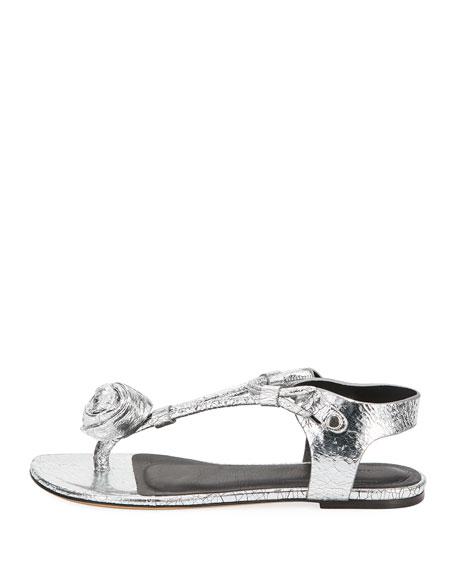 Jarley Metallic Thong Sandal