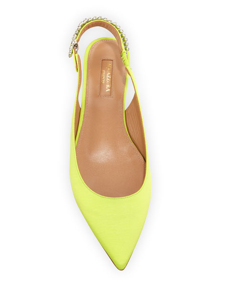 Portrait of a Lady Faille Slingback Flat