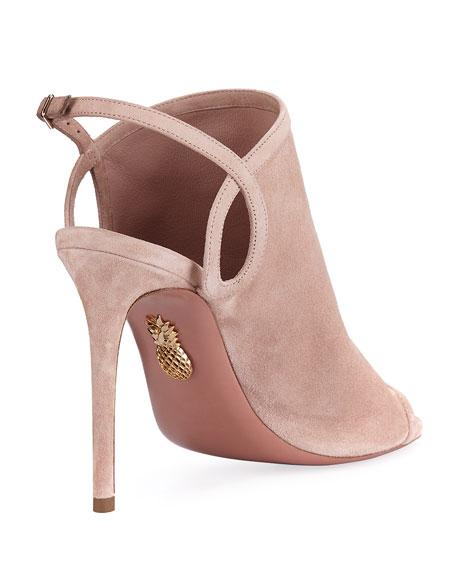 Gaya Suede Slingback 105mm Sandal