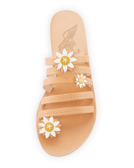Victoria Strappy Leather Slide Sandal