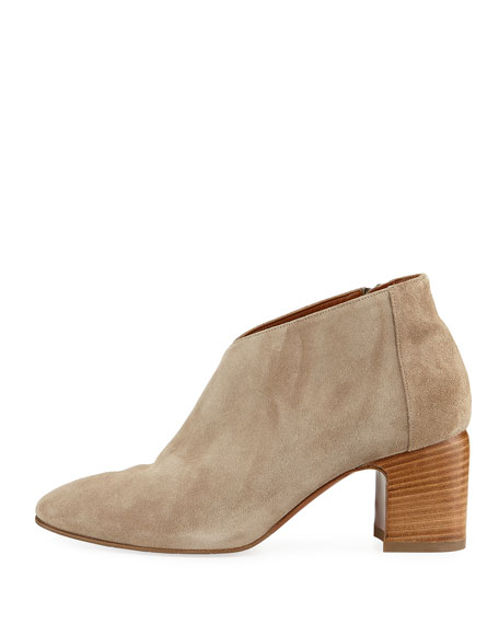 Elodina Suede Ankle Bootie