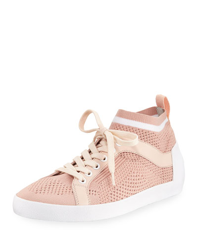 Nolita Knit Mesh Lace-Up Sneaker