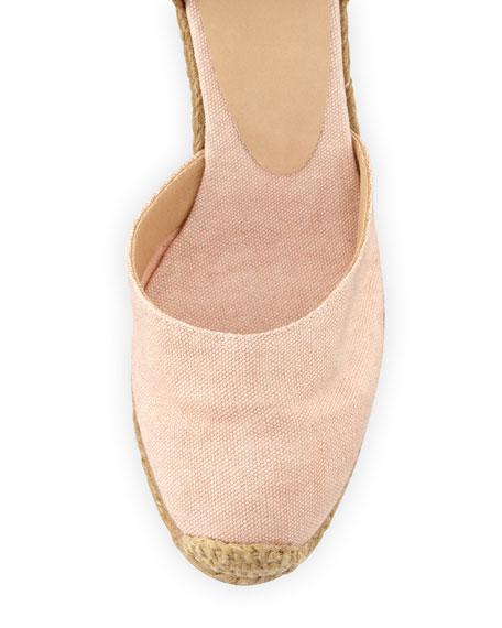 Carina Canvas Ankle-Wrap Espadrille