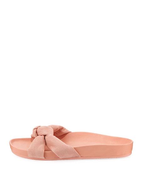 Gertie Suede Slide Sandal