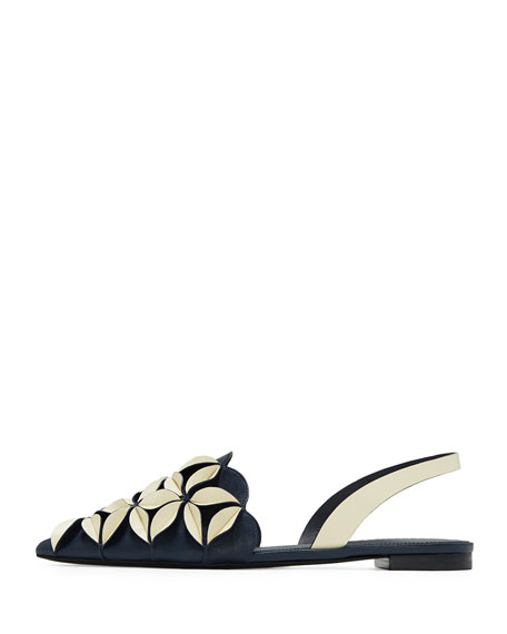 Madee Slingback Sandal with 3D Petal Detail