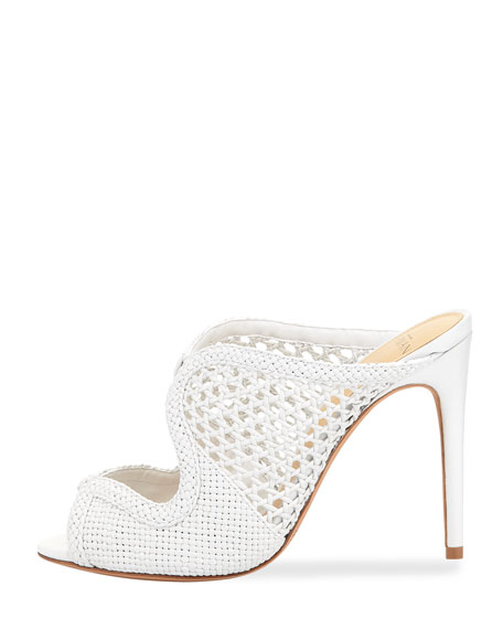 Tanny Crocheted Mule Pump